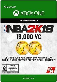 NBA 2K19: 15000 VC Pack - Xbox One [Digital Code]