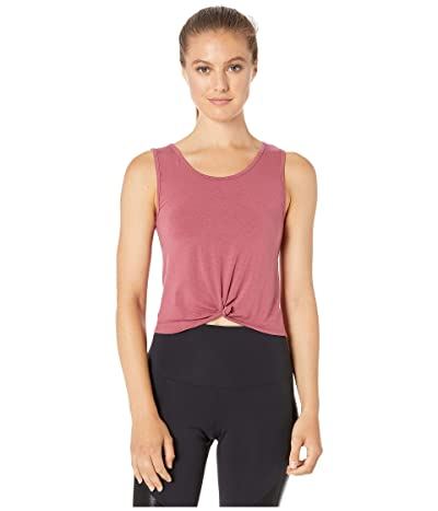 Onzie Knot Crop Top (Mauve) Women