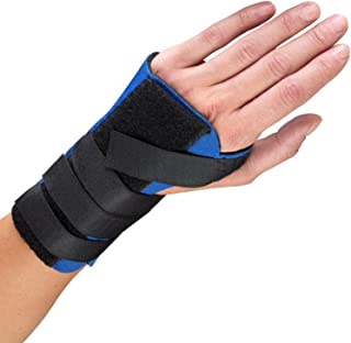 OTC Wrist Splint, Cock-up Style, Neoprene, Black, Medium (Left Hand)
