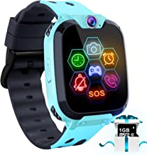 Kids Game Smart Watch – Touch Screen Game Smartwatches Call SOS Camera 7 Games..