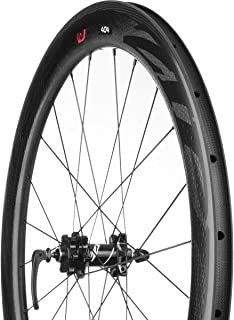 Zipp 404 Carbon Clincher Disc Brake Rear Wheel: 700c, V2, 10/11 Speed SRAM Cassette Body, Black Decal