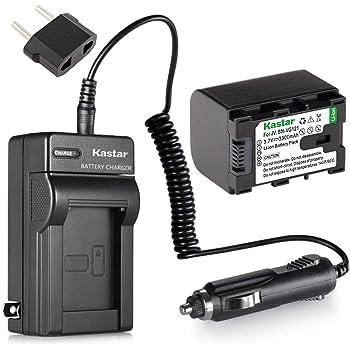 GZ-E200RU Videocámara GZ-E200BU Cargador de Batería para JVC Everio GZ-E200 GZ-E200AU