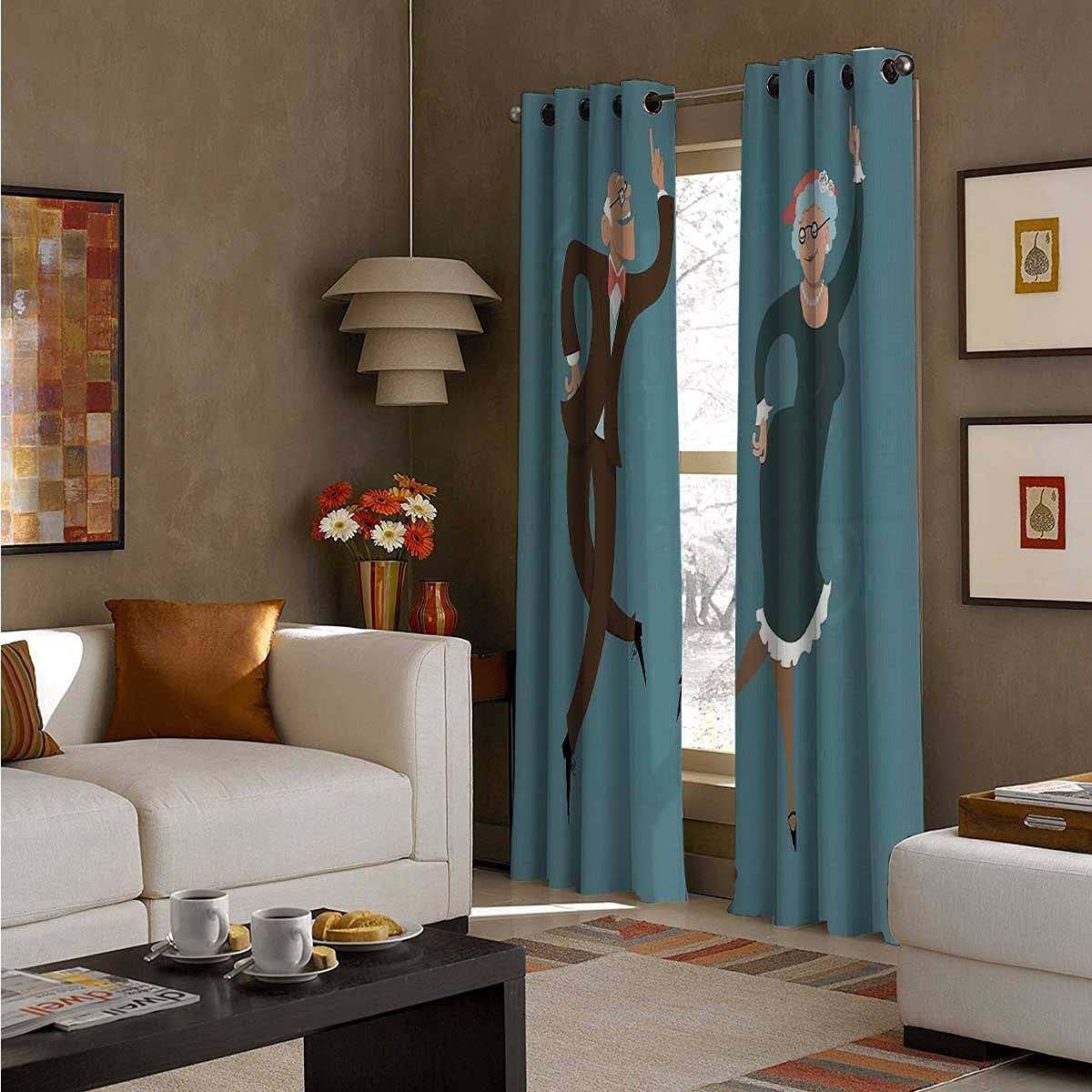 Soundproof sold out Curtains 96 Inch Length Ranking TOP11 Thermal Elderly Swing Dance
