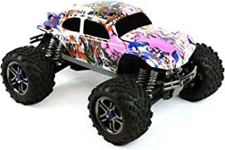 Compatible Custom Body Graffiti Pink Pig Style Replacement for 1/10 1/8 Scale RC Car or Truck (Truck not Included) B-PIG-01