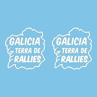 Amazon.es: Bandera de Galicia - Calcomanías y pegatinas ...
