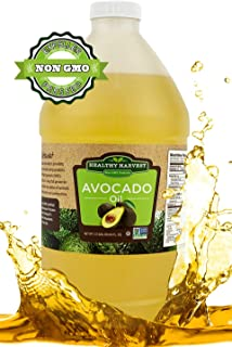 Healthy Harvest Non-GMO Avocado Oil - Great for Sauces And , Cooking, Frying and More - Nutritious And Rich With Anti-Oxidents (1/2 gallon)