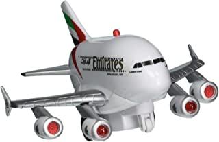 Daron Emirates A380 Pullback Plane with Lights & Sounds