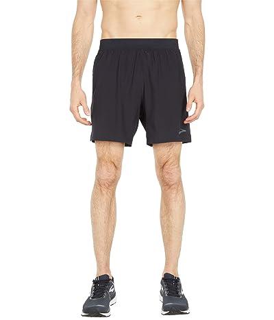 Brooks Sherpa 7 Shorts (Black) Men