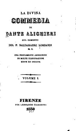 La Divina Commedia - Vol. I