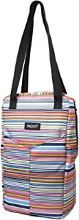 PackIt Freezable Double Wine Bag, Blanket Stripe