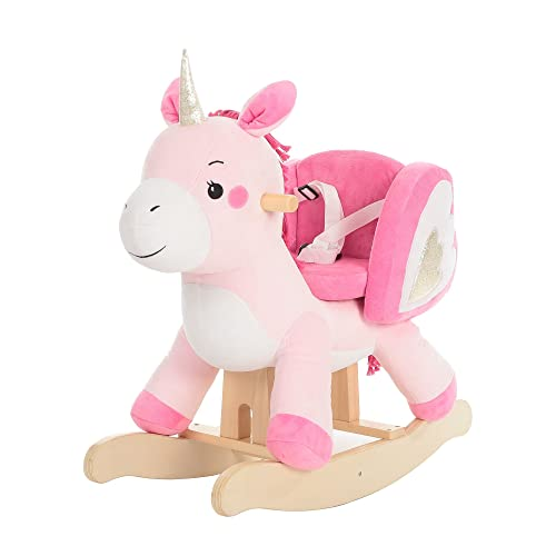 Holzspielzeug Schaukelpferd Schaukeltier Pferd Schaukelspielzeug Holz I m Toy Neu Baby