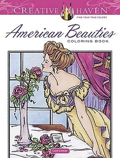 Creative Haven American Beauties Coloring Book (Creative Haven Coloring Books)