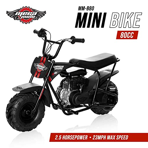 Mega Moto Gas Mini Bike 80CC/2.5HP Without Suspension (MM-B80-