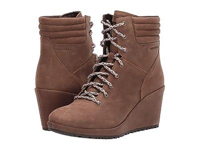 Merrell Tremblant Wedge Boot Waterproof (Stone) Women