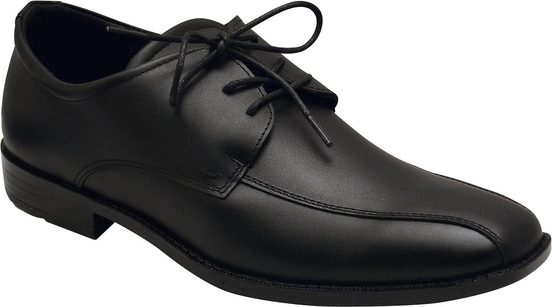 Wizfort shoes Mens 640 Black Lace Up shoes for Men