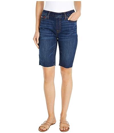 Tommy Hilfiger Adaptive Denim Bermuda Shorts (Dark Wash) Women