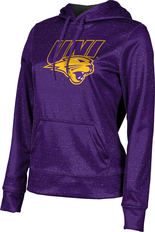 University of Northern Iowa Girls' Pullover Hoodie, School Spirit Sweatshirt (Heather)