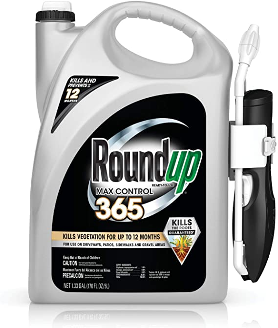 Roundup Max Control 365 (Weed Killer Plus Weed Preventer)