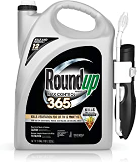 Roundup Max Control 365 Ready-to-Use Comfort Wand Sprayer, 1.33-Gallon (Weed Killer Plus Weed Preventer) - 5000510