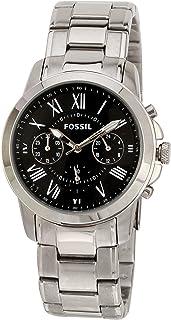 ساعة يد فوسيل جرانت للرجال - انالوج مع سوار من الستانلس ستيل - FS4736