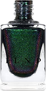 ILNP Salem - Rich Black Green Shimmer Nail Polish