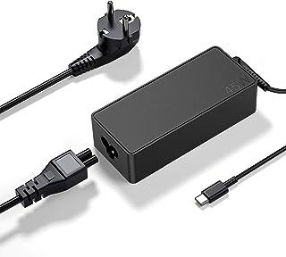 Bromae - Alimentatore di rete USB-C da 45 W, per PC portatile Lenovo ThinkPad X1 Carbon 5th Gen 20HQ 20HR Miix 720 720-12I...