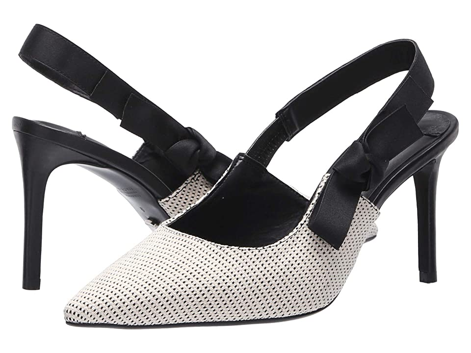 Tony Bianco Evita (White/Black Osaka) High Heels