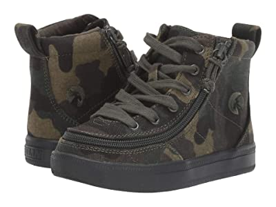 BILLY Footwear Kids Classic Lace High (Toddler) (Green Camo) Boy