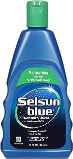 Selsun Blue Moisturizing with Aloe Dandruff Shampoo, 11 oz