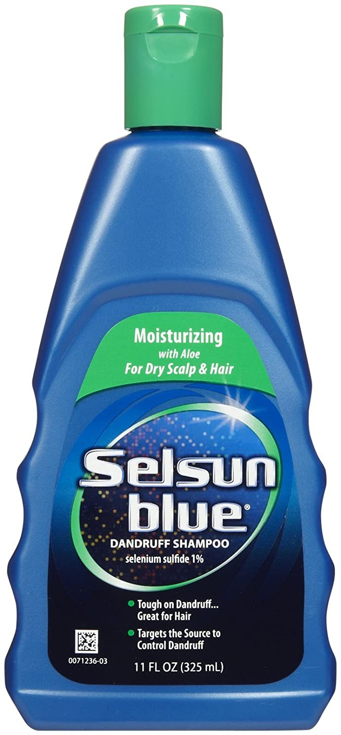 ハイライト技術脅威Selsun Blue Naturals Dandruff Shampoo Moisturizing 325 ml (並行輸入品)