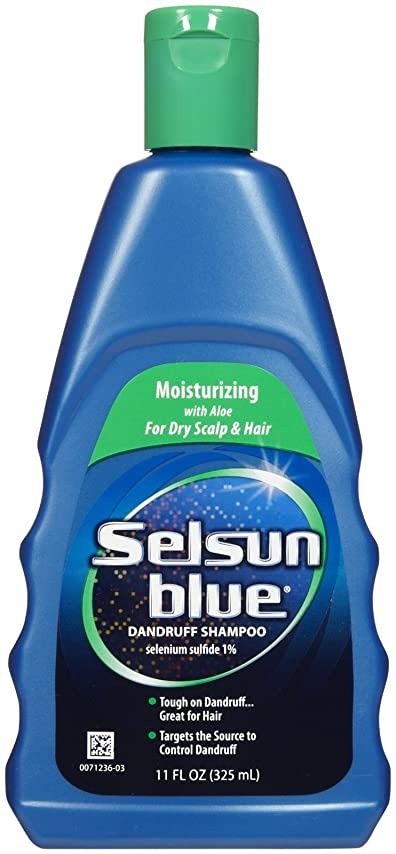 ストライド日光制限されたSelsun Blue Naturals Dandruff Shampoo Moisturizing 325 ml (並行輸入品)