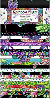 Wilmington Prints Rainbow Flight Hello Angel Crystals Jelly Roll