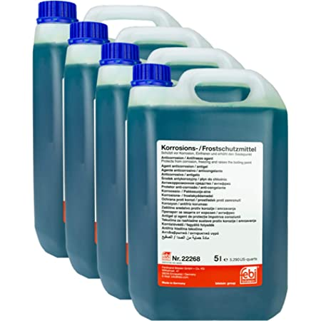 12x Febi Bilstein Kühler Frostschutz 1 5l 02374 Glysantin Frostschutzmittel Antifreeze Auto