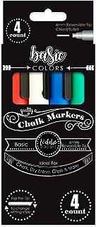 Loddie Doddie Liquid Chalk Markers - Pack of 4 Chalk Pens - Perfect for Chalkboards, Blackboards, Windows, Glass, Bistro  ...
