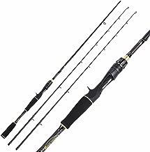 trout boy Casting Spinning Fishing Rod, 36 Ton Carbon Fiber, Fuji O-Ring Line Guides, EVA Fore Grip Ultra Light Fishing Pole