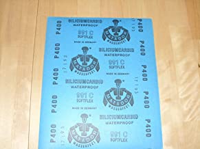 Starcke Matador Premium Schleifpapier Made in Germany 5, P240 K/örnung 60 bis P7000 w/ählbar Wasserschleifpapier Nassschleifpapier