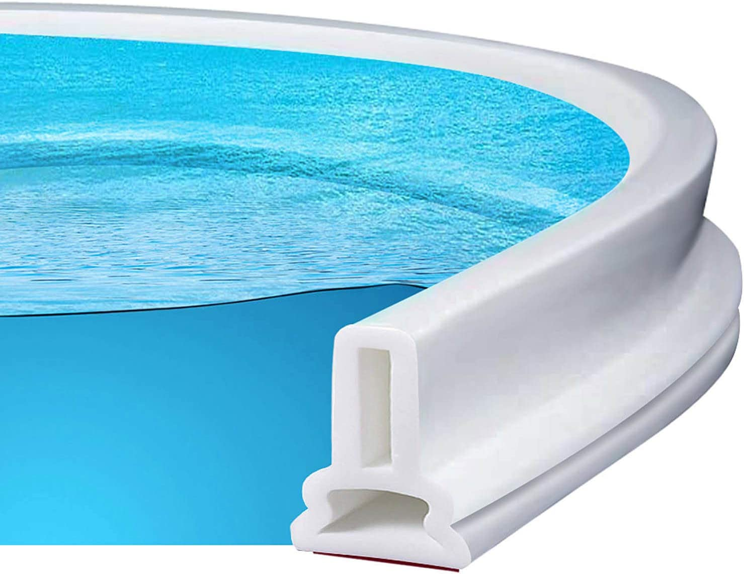 Famard Collapsible Seasonal Genuine Wrap Introduction Threshold Water Dam Stall for Silicon Shower