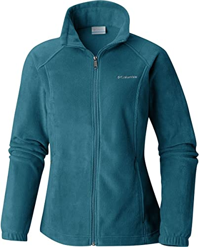 Columbia Wohommes Benton Spbagues Classic Fit Full Zip Soft Fleece veste, Lagoon, X-petit