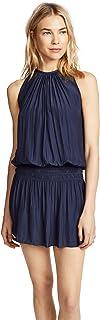 Paris Sleeveless Elastic Waist Mini Dress