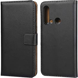 Case Leather Horizontal Flip Holster for Huawei P20 Lite 2019 with Magnetic Clasp and Bracket and Card Slot and Wallet Pro...