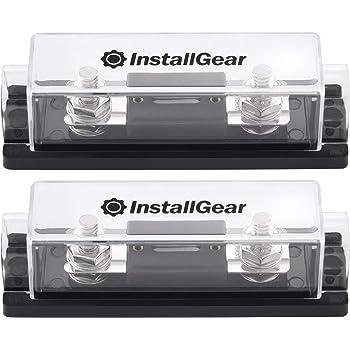 150 amp fuse box amazon com installgear 0 2 4 gauge ga anl fuse holder 150 amp  4 gauge ga anl fuse holder 150 amp