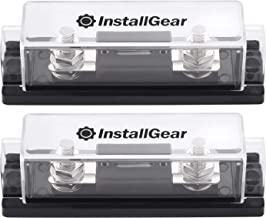 InstallGear 0/2/4 Gauge Ga ANL Fuse Holder + 300 Amp ANL Fuses (2 Pack)