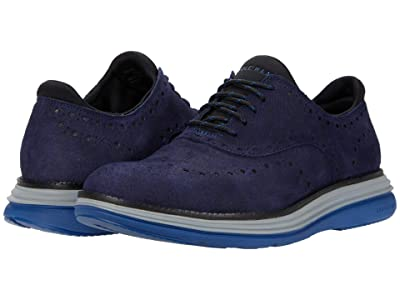 Cole Haan Original Grand Ultra Wing Ox (Marine Blue Camo/Black/Harbor Mist/True Blue) Men