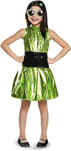 Disguise Buttercup Deluxe Powerpuff Girls Cartoon Network Costume, Medium 7-8 by Disguise