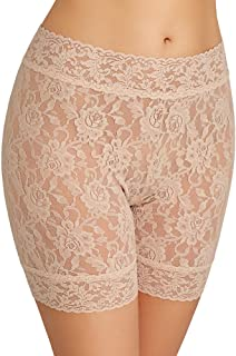 Women's Signature Lace Biker Shorts Pantyhose