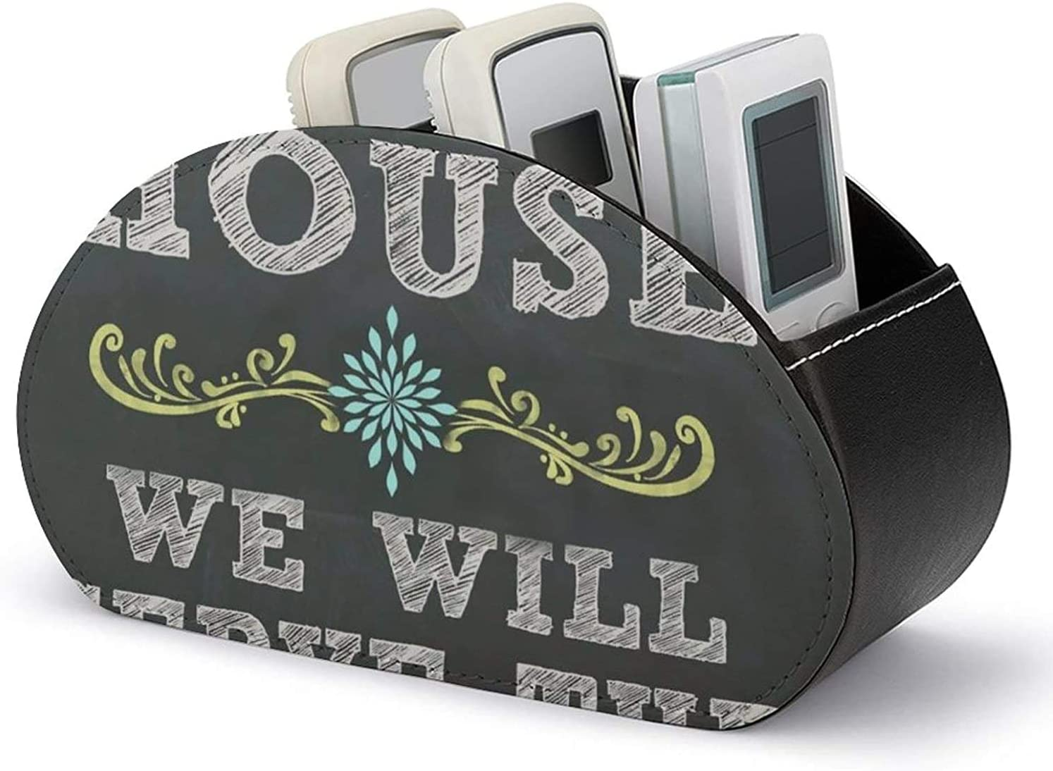 Remote Control Holder PU Leather As for San Francisco Mall Ranking TOP15 We And S Me M House Will