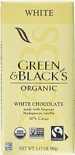 Green & Black's Organic White Chocolate Bars, 30% Cacao, 10 - 3.17 Oz Bars,, 10Count