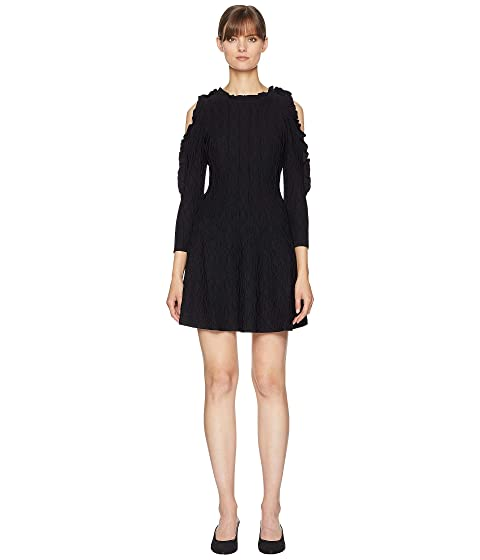 The Kooples Open Shoulder Knitted Dress