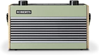 Roberts Rambler BT Retro/Digital Portable Bluetooth Radio with DAB/DAB+/FM RDS Wavebands - Green
