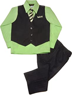 lime green pinstripe suit